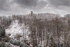 Die Ottoshöhe im Schnee